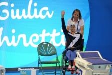 Giulia Ghiretti argento 100 rana