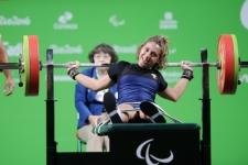 Martina Barbierato sollevamento pesi