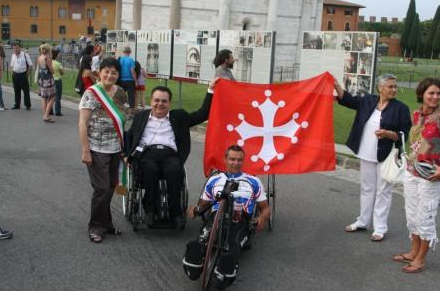 IL VIAGGIO DI HERMAN VOLF: DA PRAGA A ROMA IN HANDBIKE