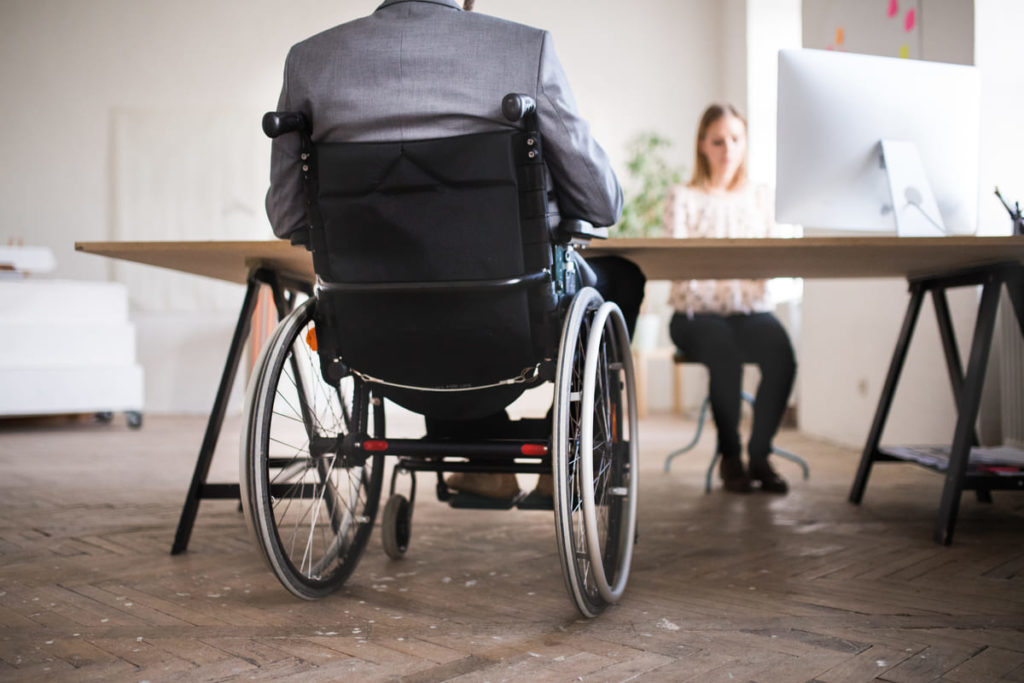 disabile si informa su indennità di accompagnamento