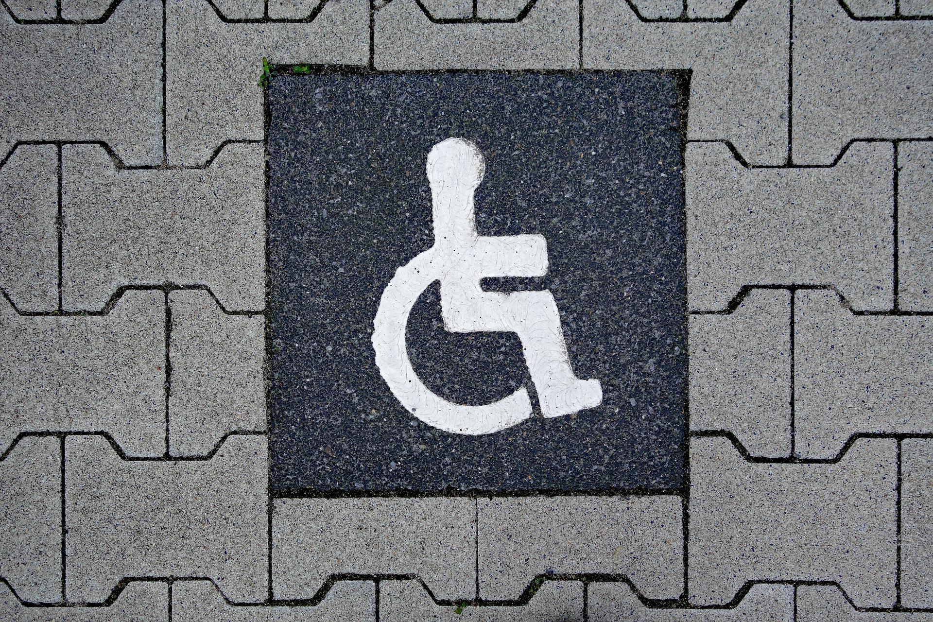parcheggio disabili-parcheggio per disabili-tagliando disabili-pass disabili-ability channel-parcheggio riservato ai disabili