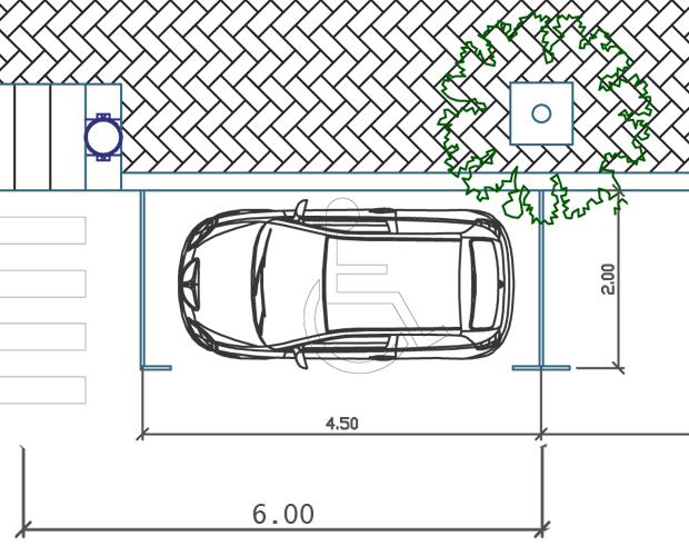 Parcheggio Disabili-ability channel-dimensioni parcheggio per disabili-parcheggio per persone con disabilità