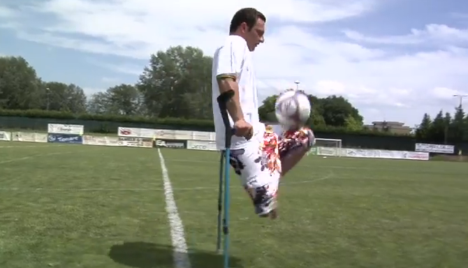 calcio disabili