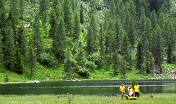 vacanza disabili in montagna