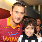 Francesco Messori e Francesco Totti