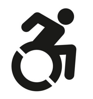 Icona carrozzine per disabili