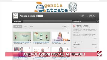 Agevolazioni fiscali per disabili un cartone animato le for Agevolazioni fiscali rimozione amianto agenzia entrate