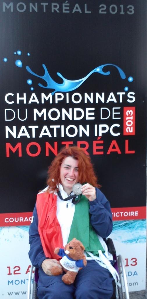 arjola trimi medaglia argento Mondiali Nuoto Montreal 2013