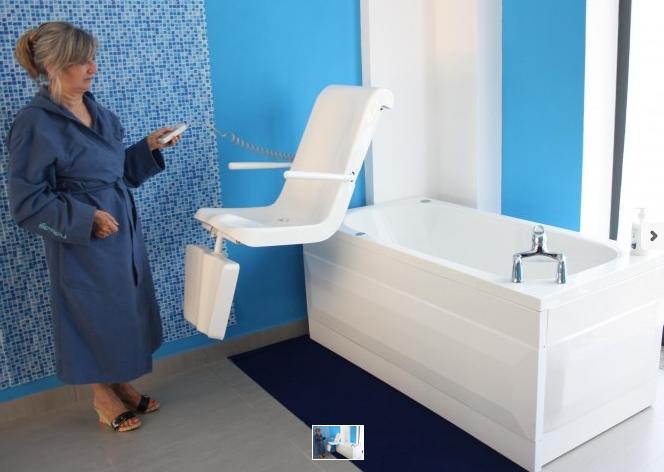 le vasche da bagno e gli ausili sanitari per anziani e disabili