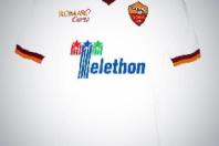 L' AS Roma a sostegno di Telethon
