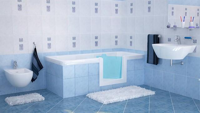 Vasche con sportello per anziani e disabili di Remail  Ability Channel