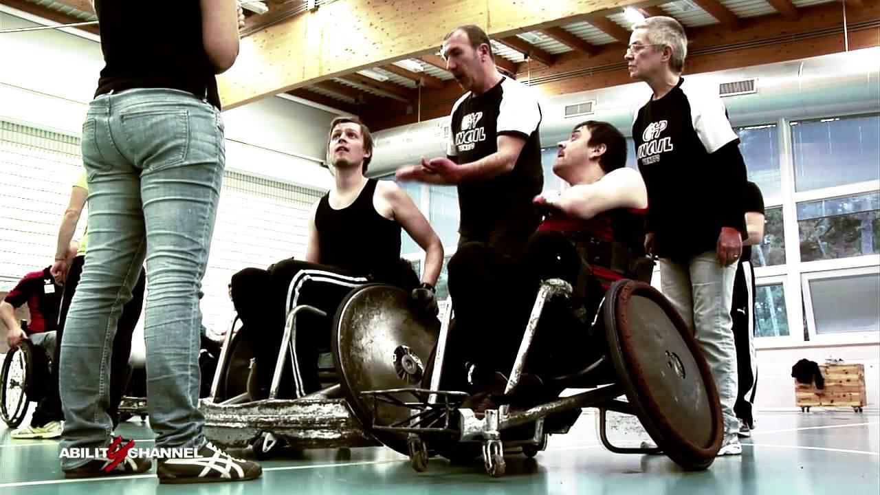 1° Stage di Wheelchair Rugby a Lignano Sabbiadoro