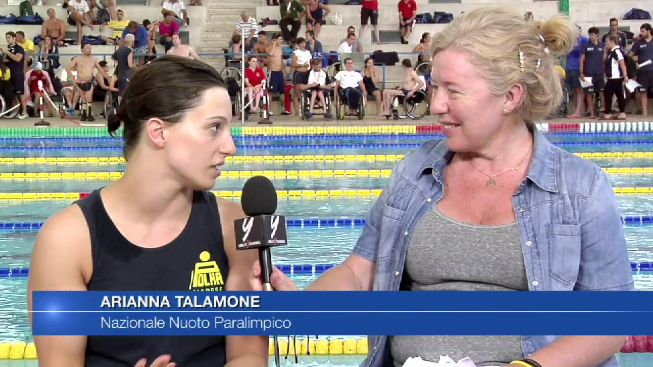 Arianna Talamona – Nuoto Paralimpico