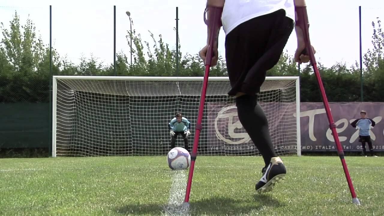 Calcio disabili, una squadra per ragazzi amputati