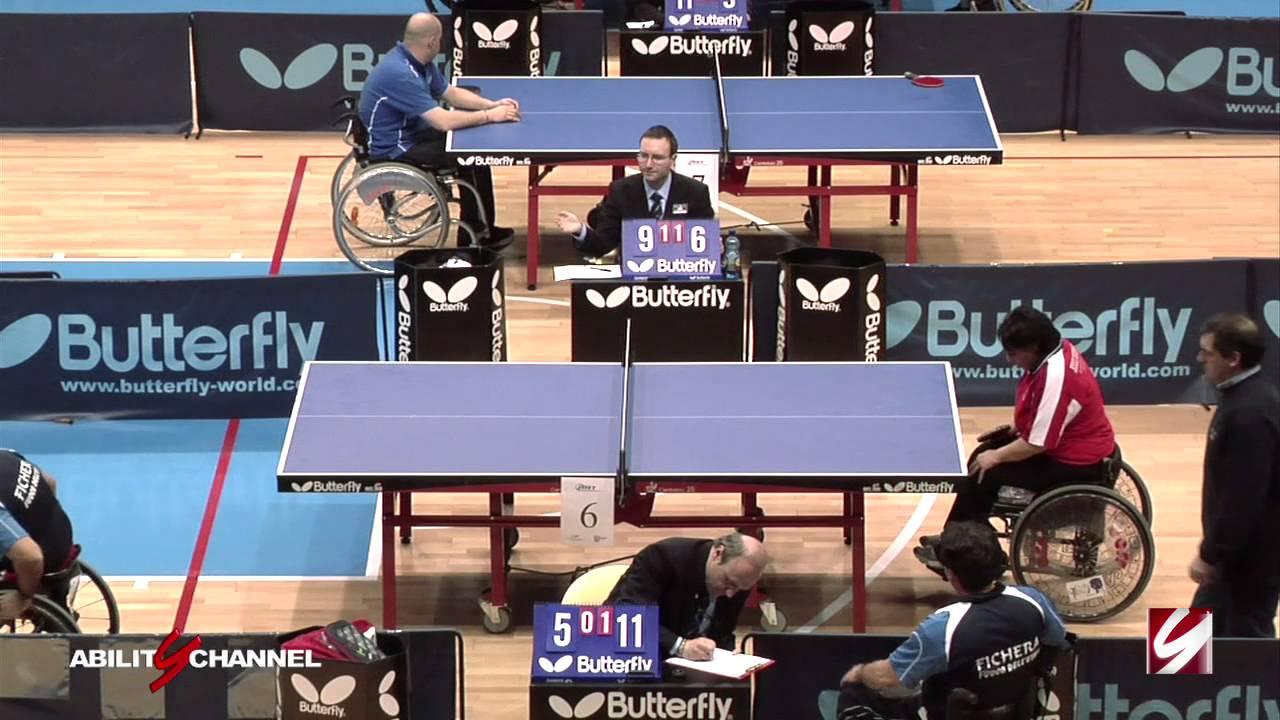 Campionati Italiani Tennis Tavolo per paralimpici