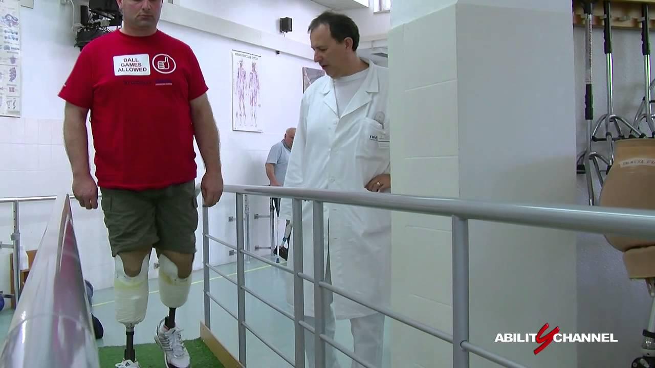 Riabilitazione e fornitura protesi al Centro Protesi Inail di Budrio