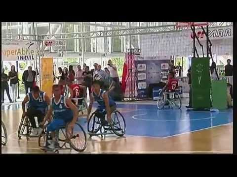 Exposanità 2014 – Basket in carrozzina: Italia – Afghanistan