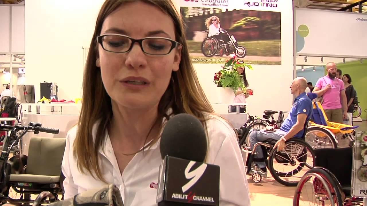 Exposanità 2014 – Le carrozzine per disabili seguono la moda con Offcarr