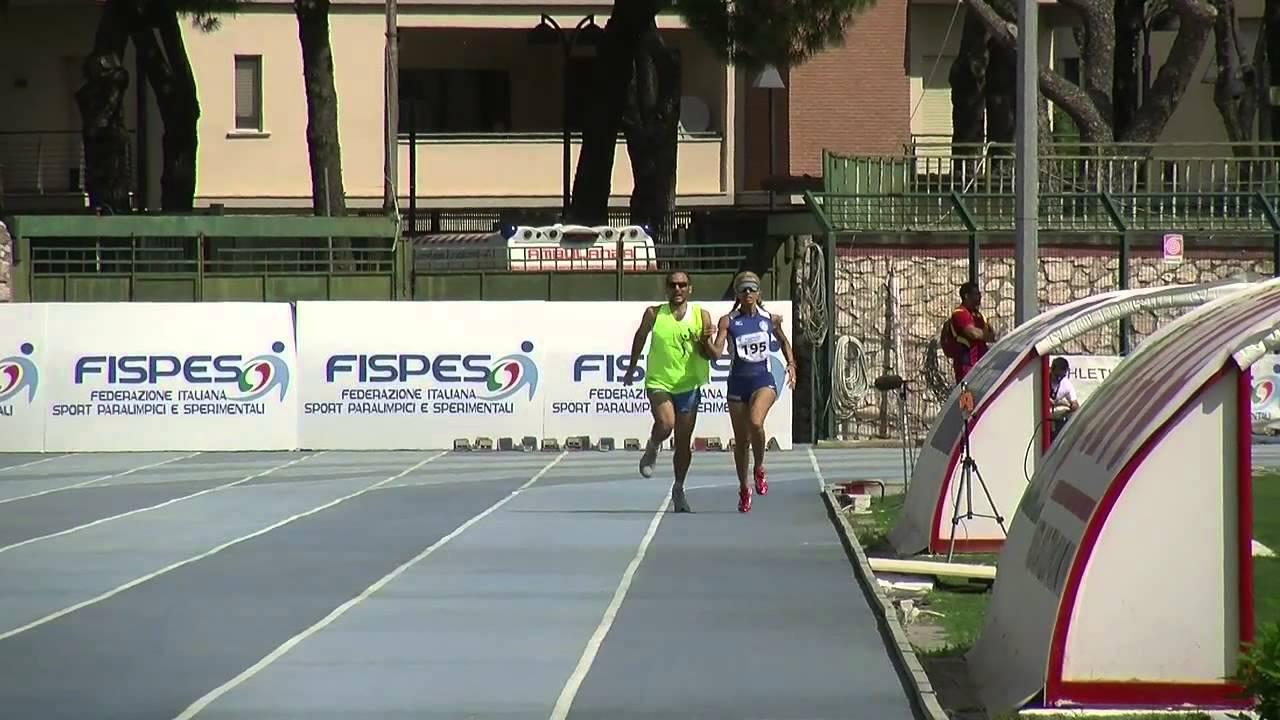 Grosseto 2013 – La gara di Annalisa Minetti 800 mt