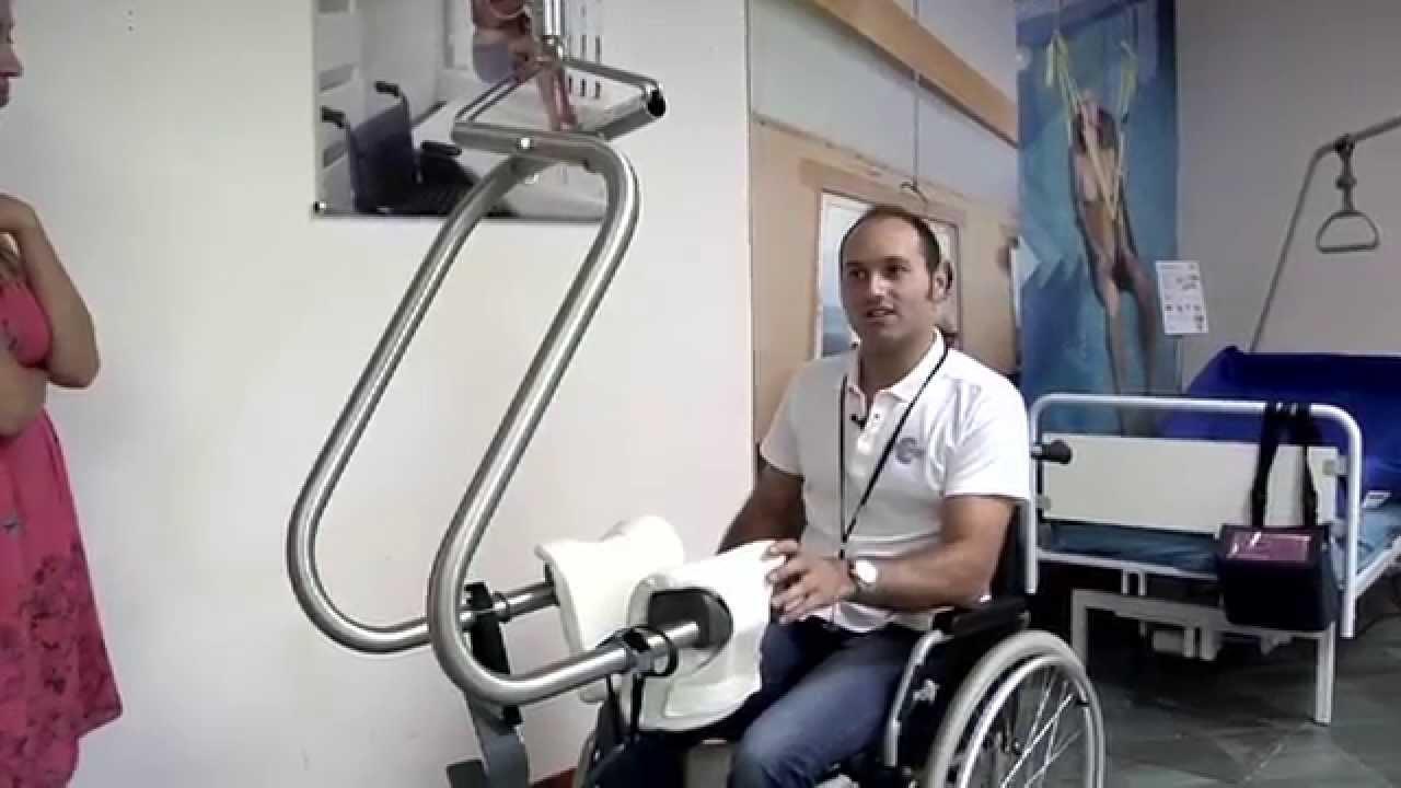 Il sollevatore a braccia inox per disabili