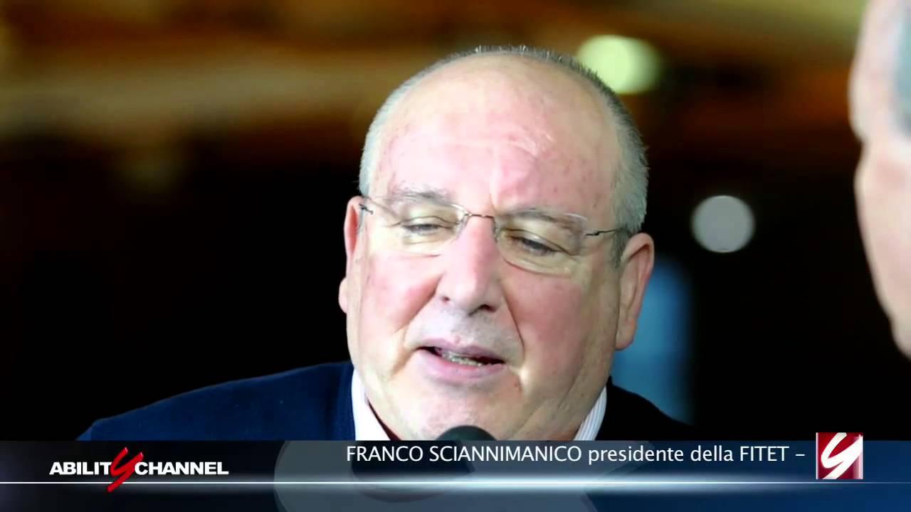 Intervista al presidente della FITET Franco Sciannimanico