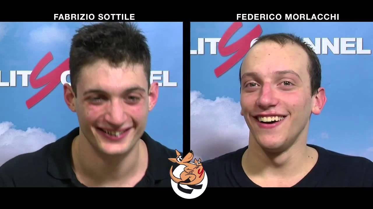 Intervista Doppia a Fabrizio Sottile e Federico Morlacchi