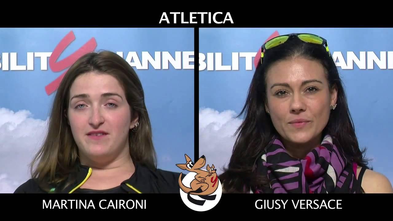 Intervista Doppia alle Campionesse dell'Atletica Paralimpica Martina Caironi e Giusy Versace