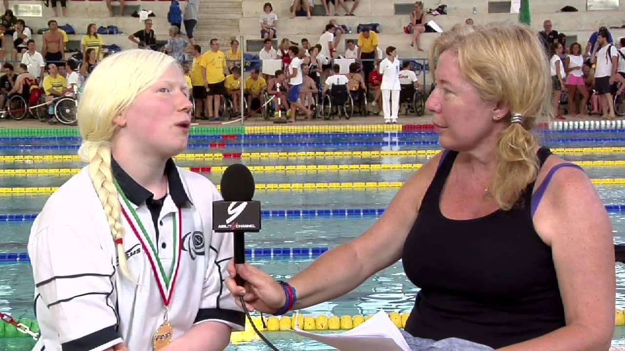 Luigia Vivenzio – Nuoto paralimpico