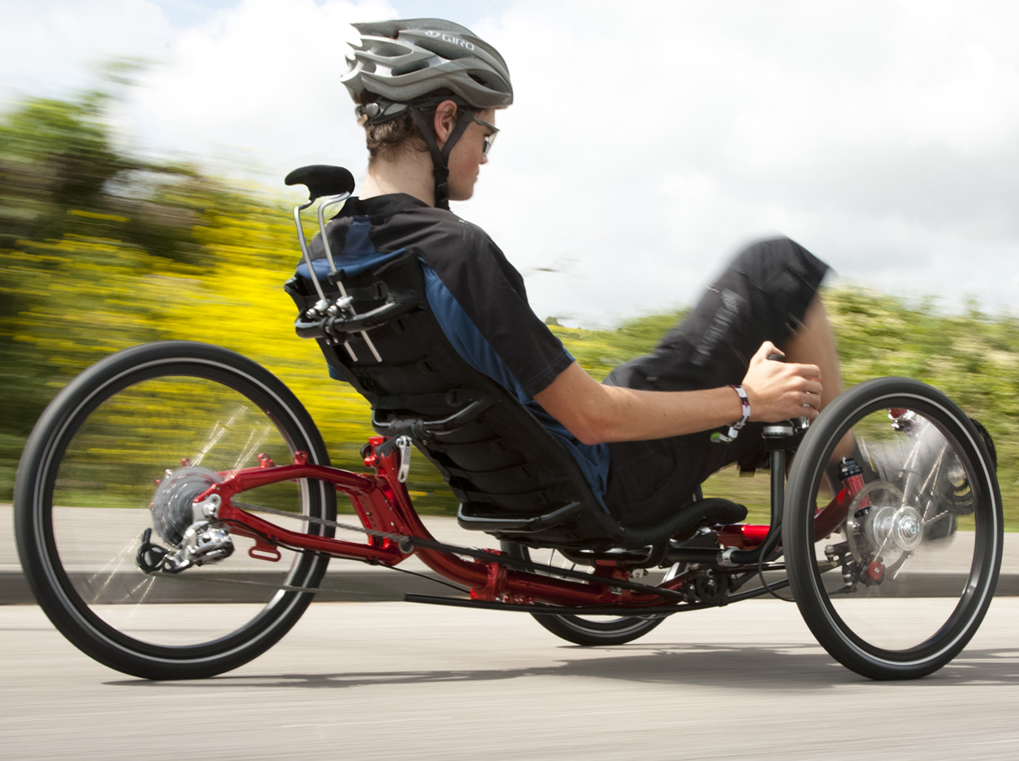 Disabili In Bicicletta I Vantaggi Del Trike Recumbent Ability Channel
