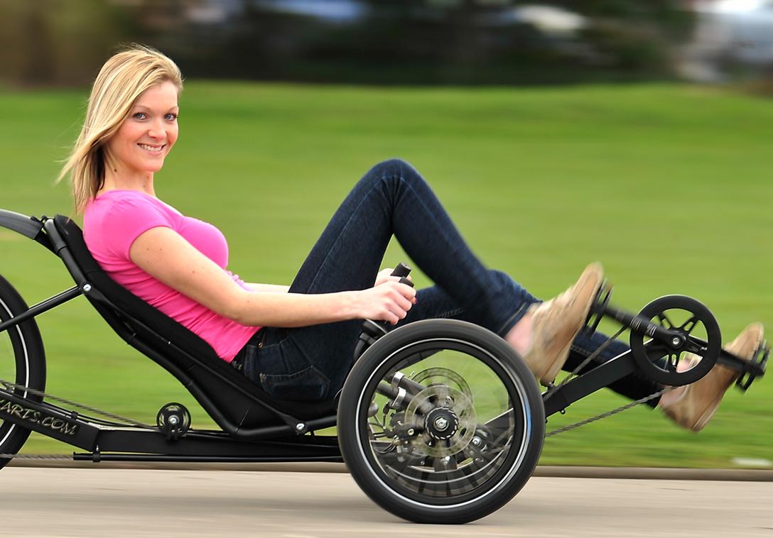 Disabili in bicicletta i vantaggi del trike recumbent for Bicicletta per tre persone