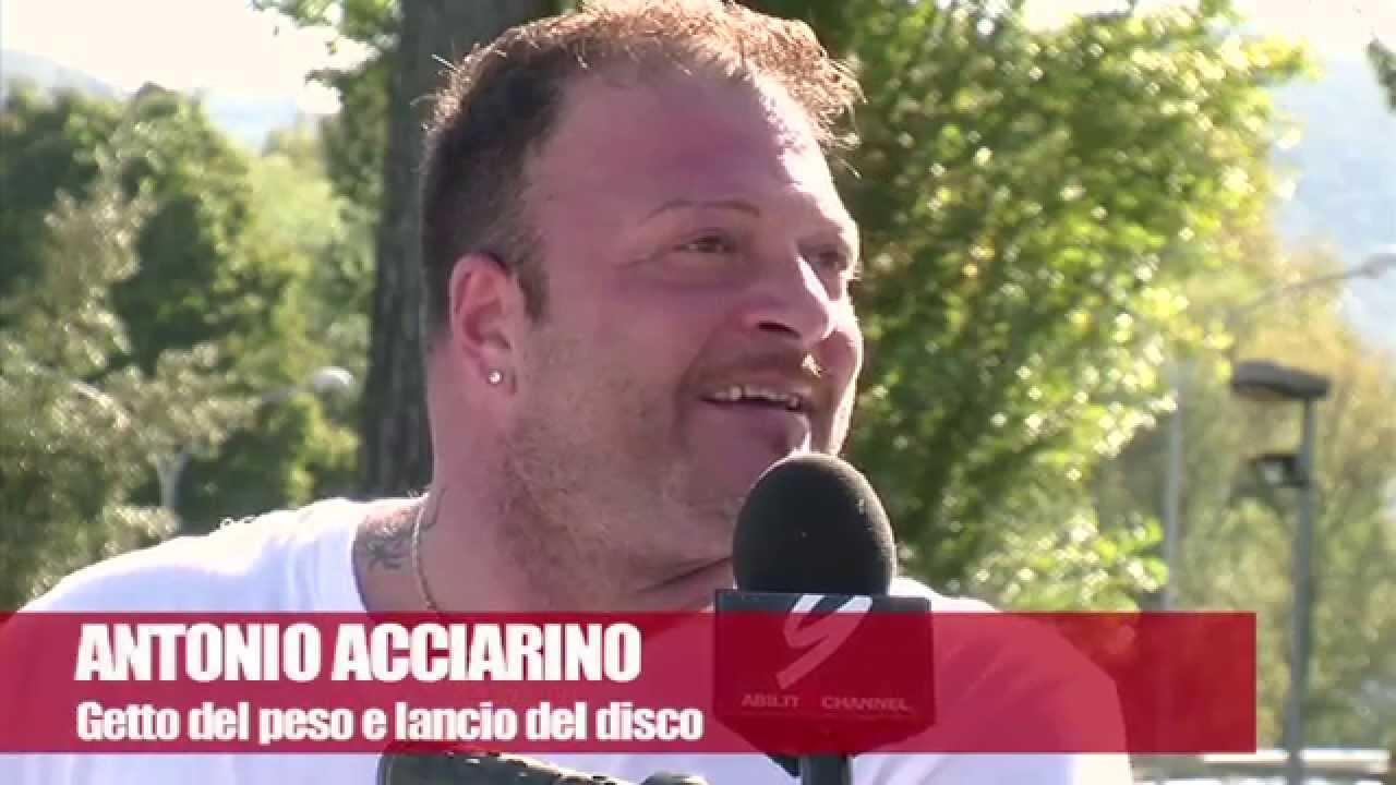 Antonio Acciarino – Getto del Peso e Lancio del Disco