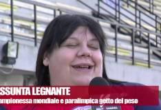 Assunta Legnante: una mascherina per Papa Francesco