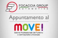 Appuntamento al Move! Scopri gli allestimenti Focaccia Group