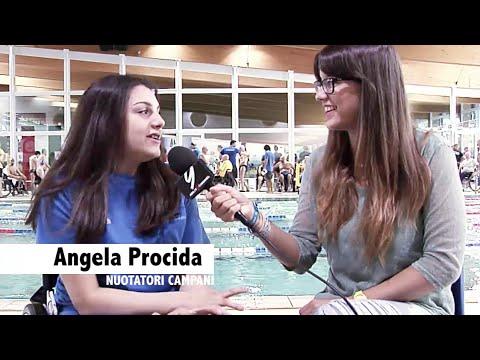 Regina del nuoto…regina del web… Angela Procida