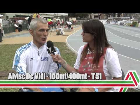 Grosseto 2015: Alvise De Vidi – 100 e 400mt