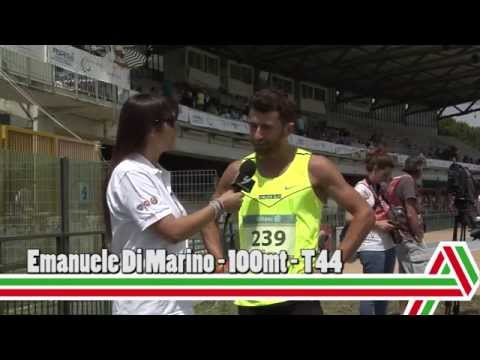 Grosseto 2015: Emanuele Di Marino – 100mt