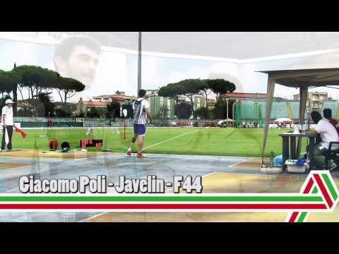 Grosseto 2015: Giacomo Poli – Giavellotto