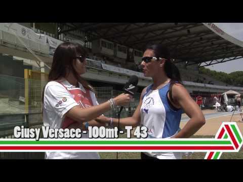 Grosseto 2015: Giusy Versace – 100mt