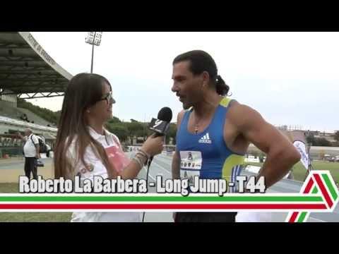 Grosseto 2015: Roberto La Barbera – Salto in lungo