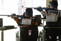 Assegnati a Padova i tricolori di Tiro a segno paralimpico