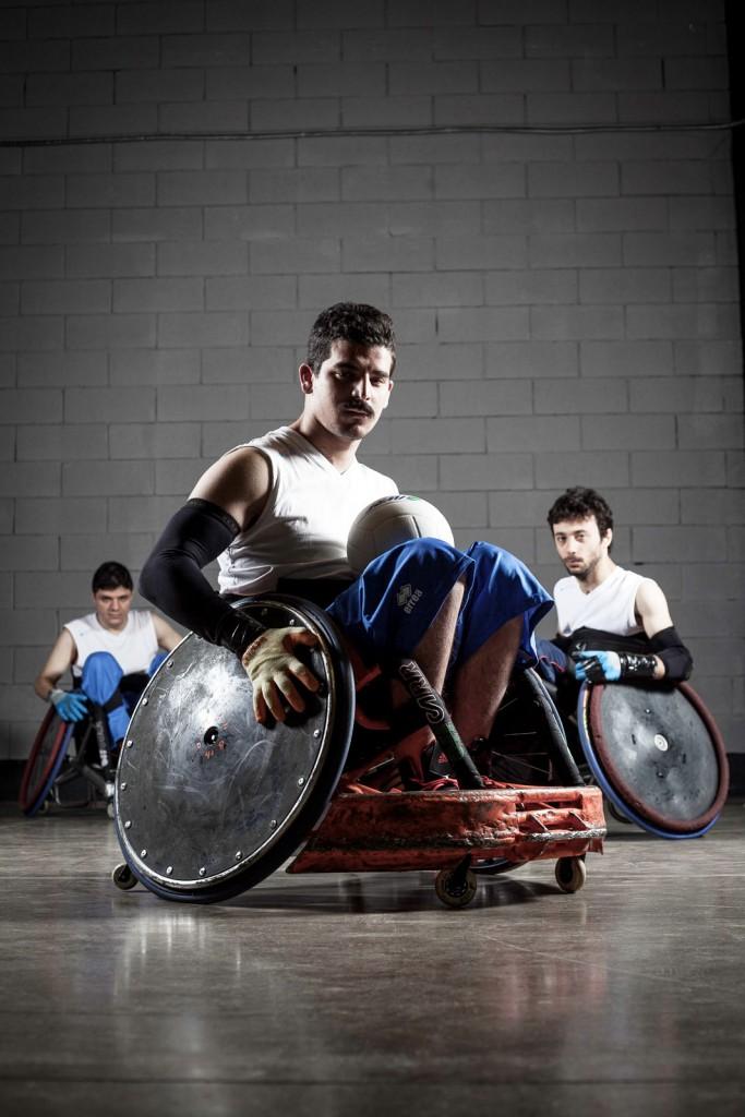 Rugby in carrozzina Tetraplegia