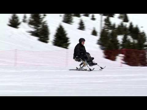 Impianti di sci accessibili ai disabili a Folgaria