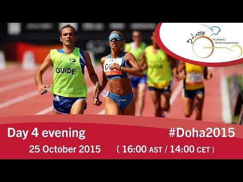 Mondiali di Doha Giorno 4 pomeriggio