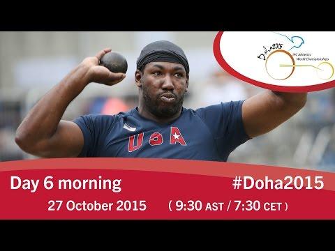 Mondiali di Doha Giorno 6 mattina – Per l'Italia in pista Arjola Dedaj