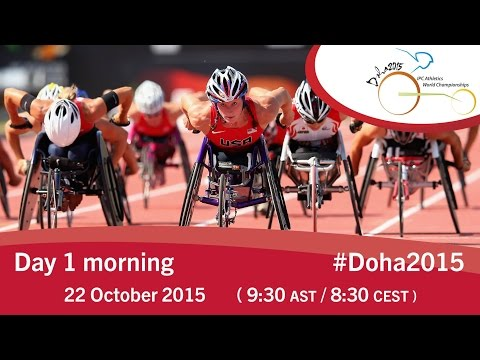 Mondiali Doha Giorno 1 mattina –  Diretta streaming