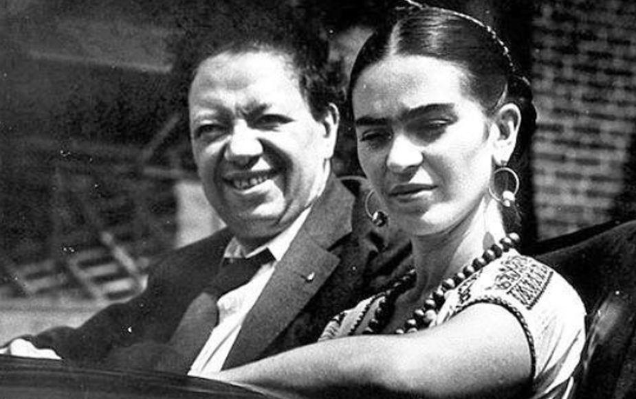 frida kahlo e il marito diego rivera
