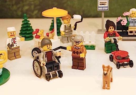 Lego disabile