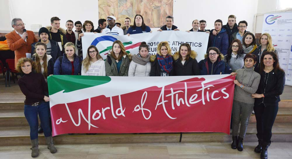 world of athletics