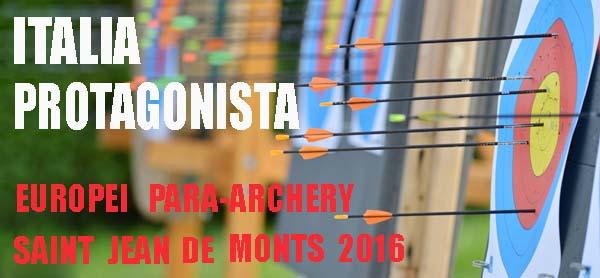 Europei Para-archery...l'Italia protagonista!