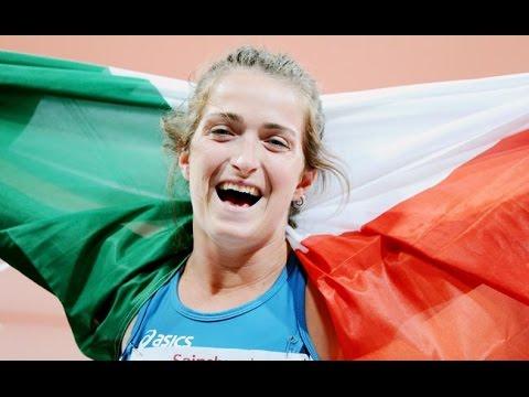 Martina Caironi: Portabandiera azzurra a Rio 2016